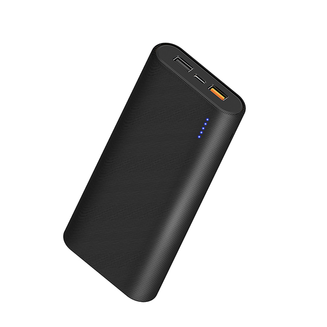 WiWU JC-07 Large Capacity 26800mAh Power Bank Comfortable Texture Surface 45W High-speed Charge Power Source