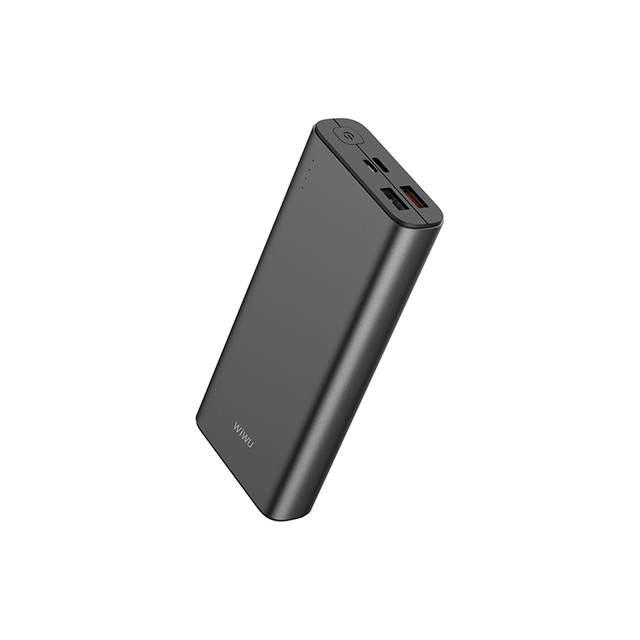 WiWU JC-06 20000Mah Big Capacity 77wh/3.85V Green Black Power Bank For Sale