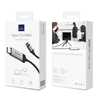WiWU X9 Nylon Aluminum Alloy Type C To HDMI Black Audio Cable For Type C Devices