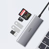 WiWU Alpha 532ST 5 In1 Laptop USB C Hub 3*USB3.0 TF/ST Card Slot Card Reader Notebook Dongle Station