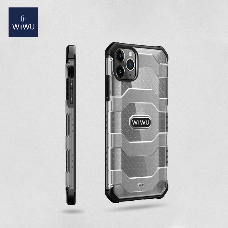 WiWU Voyager Rugged Military Shockproof Mobile Anti-drop Protective Phone Case Cover Samsung iPhone
