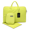 WiWU Campus Slim Case 2 in 1 Colorful Simple Brief Laptop Handbag with Soft Faux Fur Lining 12-15.4Inch